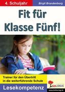 Fit für Klasse Fünf! - Lesekompetenz