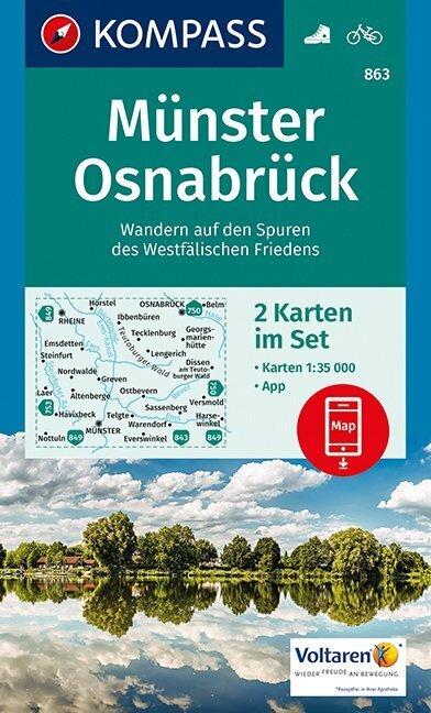 Münster, Osnabrück 1:35 000 als Buch von