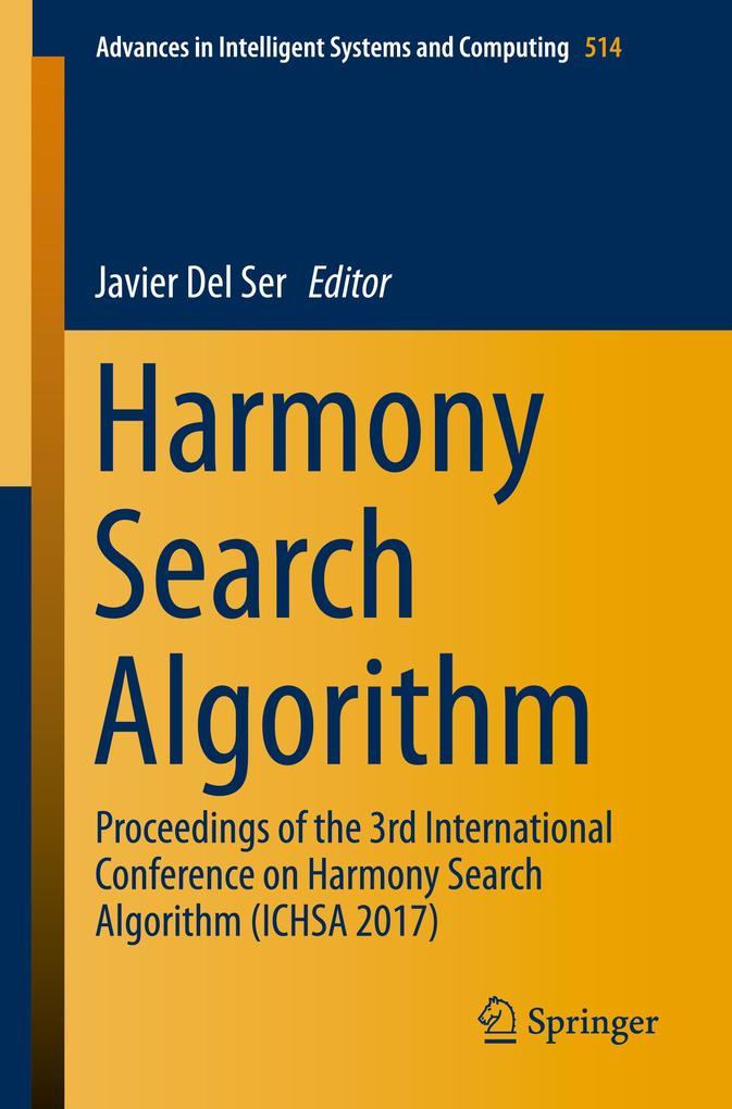 Harmony Search Algorithm als Buch (kartoniert)