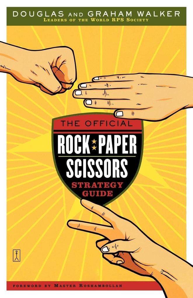 The Official Rock Paper Scissors Strategy Guide als Buch