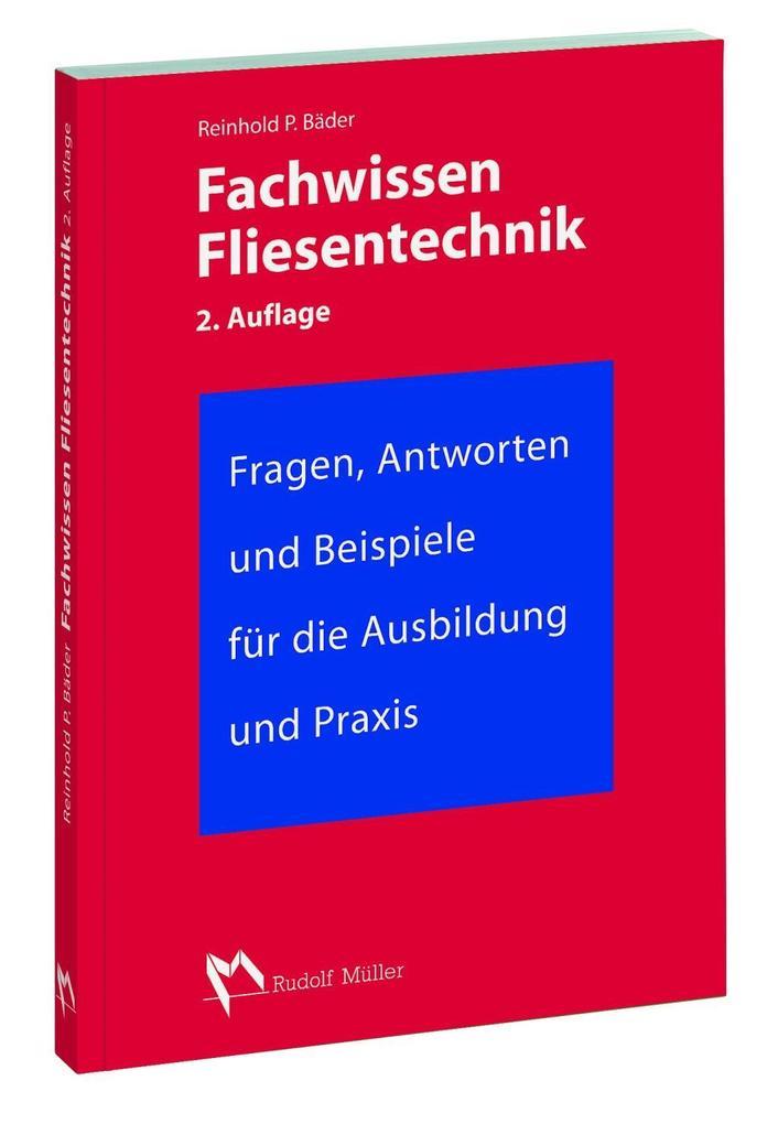 Fachwissen Fliesentechnik als Buch