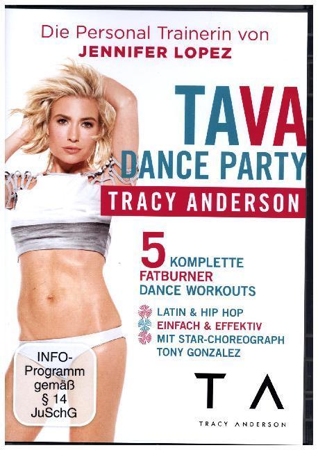 Tracy Anderson - TA VA Dance Party als DVD