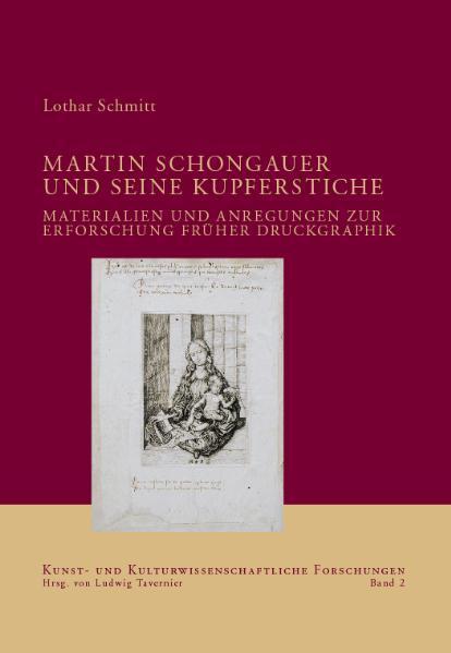 Martin Schongauer und seine Kupferstiche als Buch
