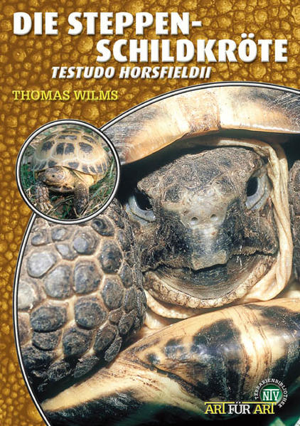 Steppenschildkröte als Buch