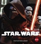 Star Wars 2018. Postkartenkalender