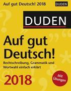 Duden Auf gut Deutsch! 2018