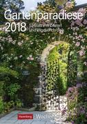 Gartenparadiese 2018 Wochenplaner