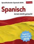 Sprachkalender Spanisch 2018