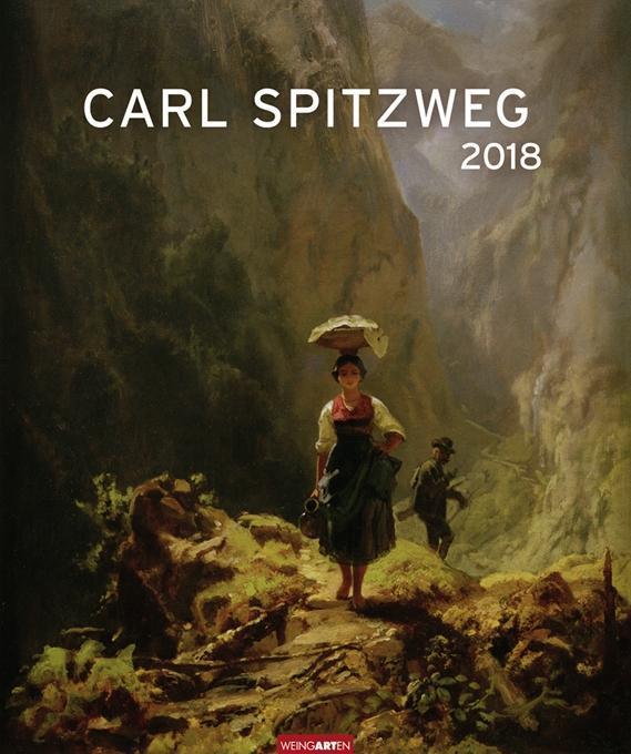 Carl Spitzweg - Kalender 2018
