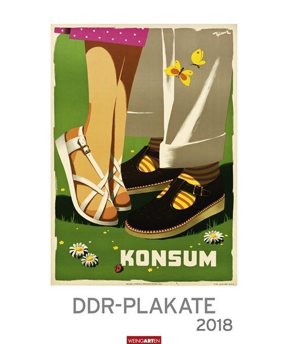 DDR-Plakate - Kalender 2018