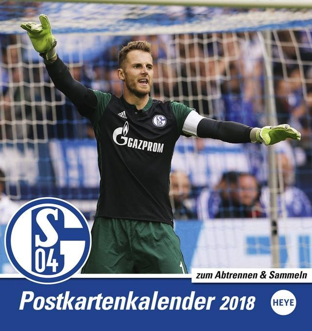 FC Schalke 04 2018 Sammelkartenkalender