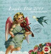 Glitzer Engelspost Postkartenkalender 2018