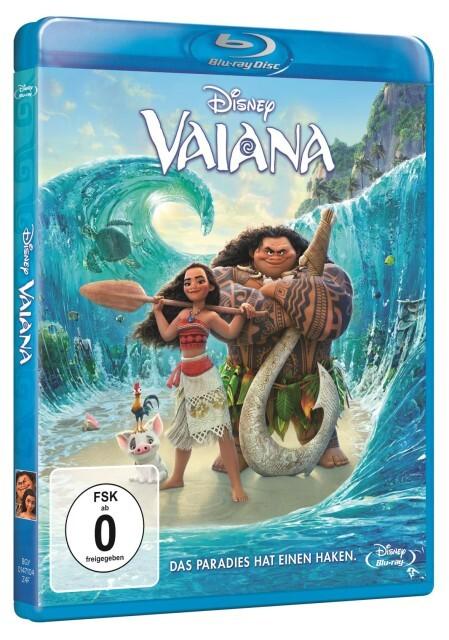 Vaiana als DVD