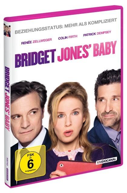 Bridget Jones' Baby als DVD