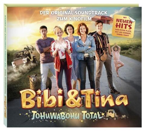 Bibi und Tina. Soundtrack zum 4. Kinofilm: Tohuwabohu total als CD