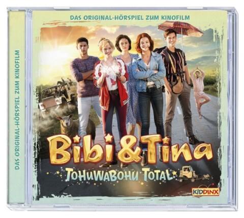Bibi & Tina - Hörspiel zum 4. Kinofilm: Tohuwabohu total als Hörbuch
