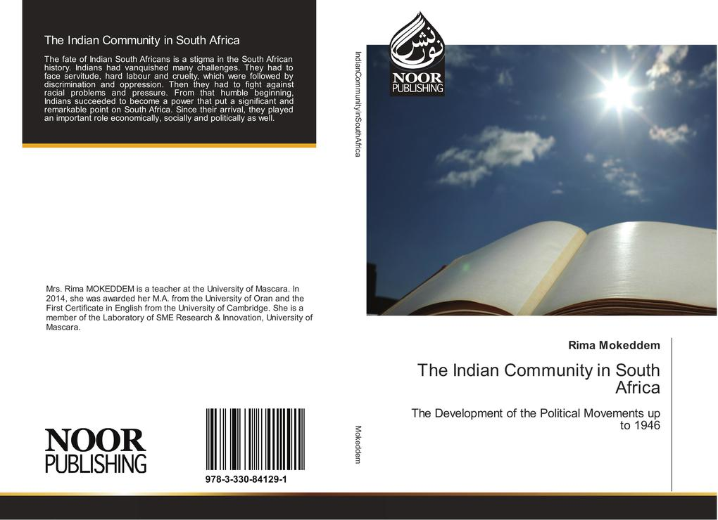 The Indian Community in South Africa als Buch v...
