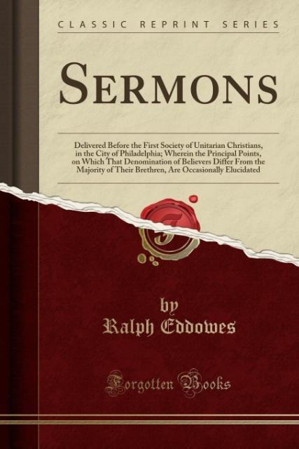 Sermons als Taschenbuch von Ralph Eddowes