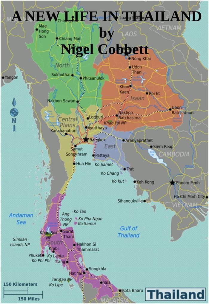 A New Life in Thailand als eBook Download von N...