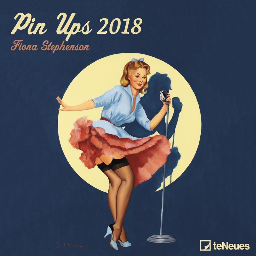 pin ups 2018 brosch renkalender kalender fiona stephenson. Black Bedroom Furniture Sets. Home Design Ideas
