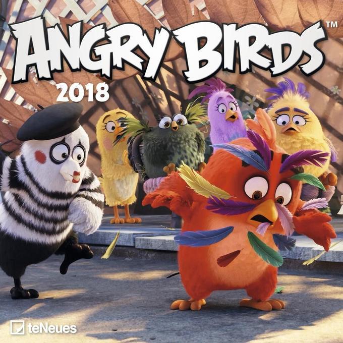 Angry Birds 2018 Broschürenkalender