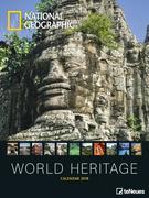 NG World Heritage 48 X64 Poster Calendar 2018