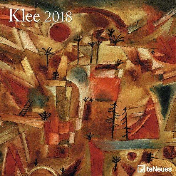 Klee 2018 Broschürenkalender