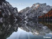 Landscapes, Guerel Sahin 64 x 48 Poster Calendar 2018