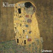 KLIMT 30 x 30 Grid Calendar 2018