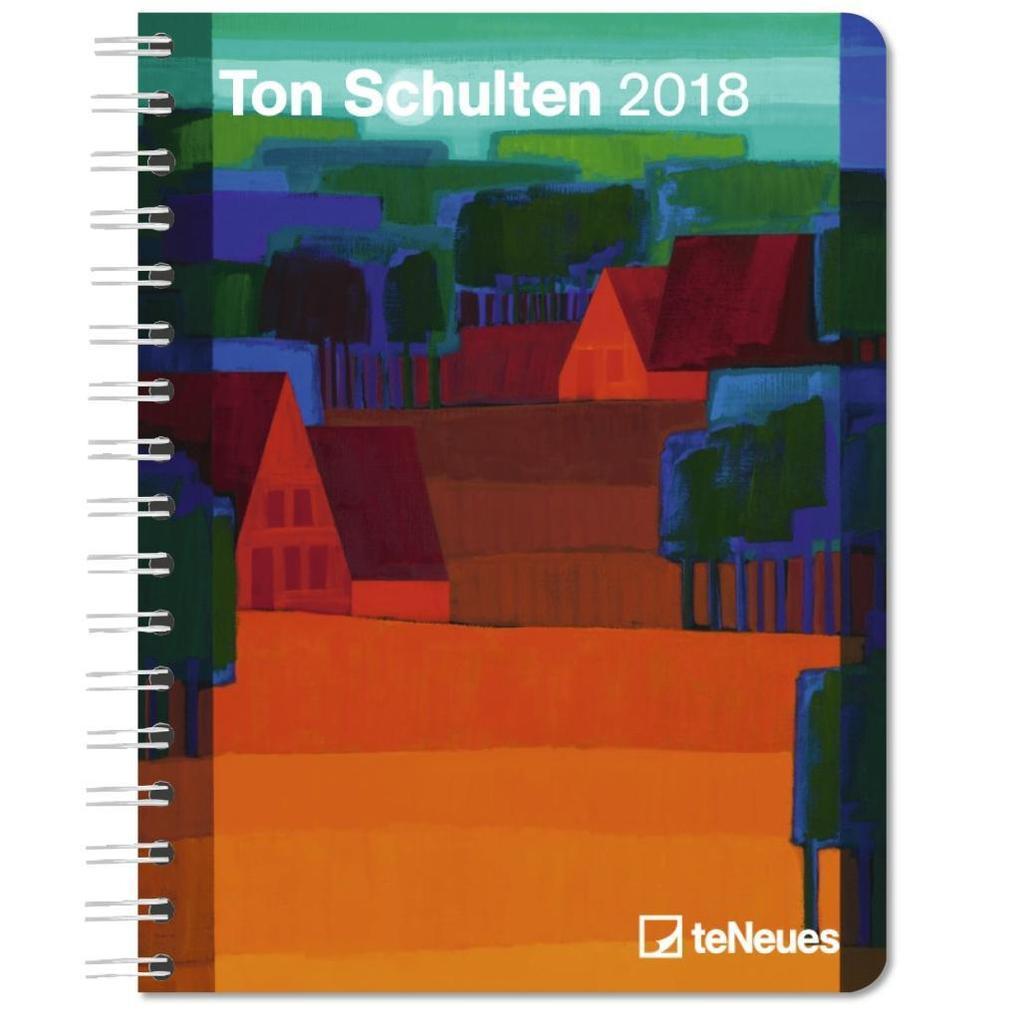 Ton Schulten 2018 Buchkalender Deluxe