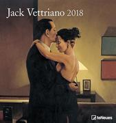 Jack Vettriano 45 x 48 Wall Calendar 2018