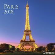 Paris 30 x 30 Grid Calendar 2018