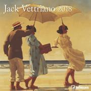 Jack Vettriano 30 x 30 Grid Calendar 2018