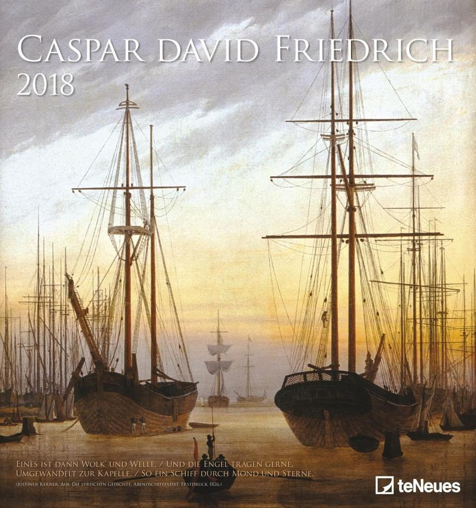 Caspar David Friedrich 2018 Wandkalender