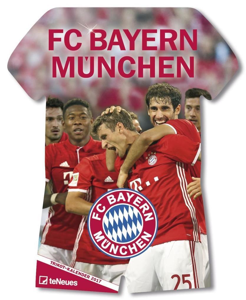 FC Bayern München Trikotkalender 2018