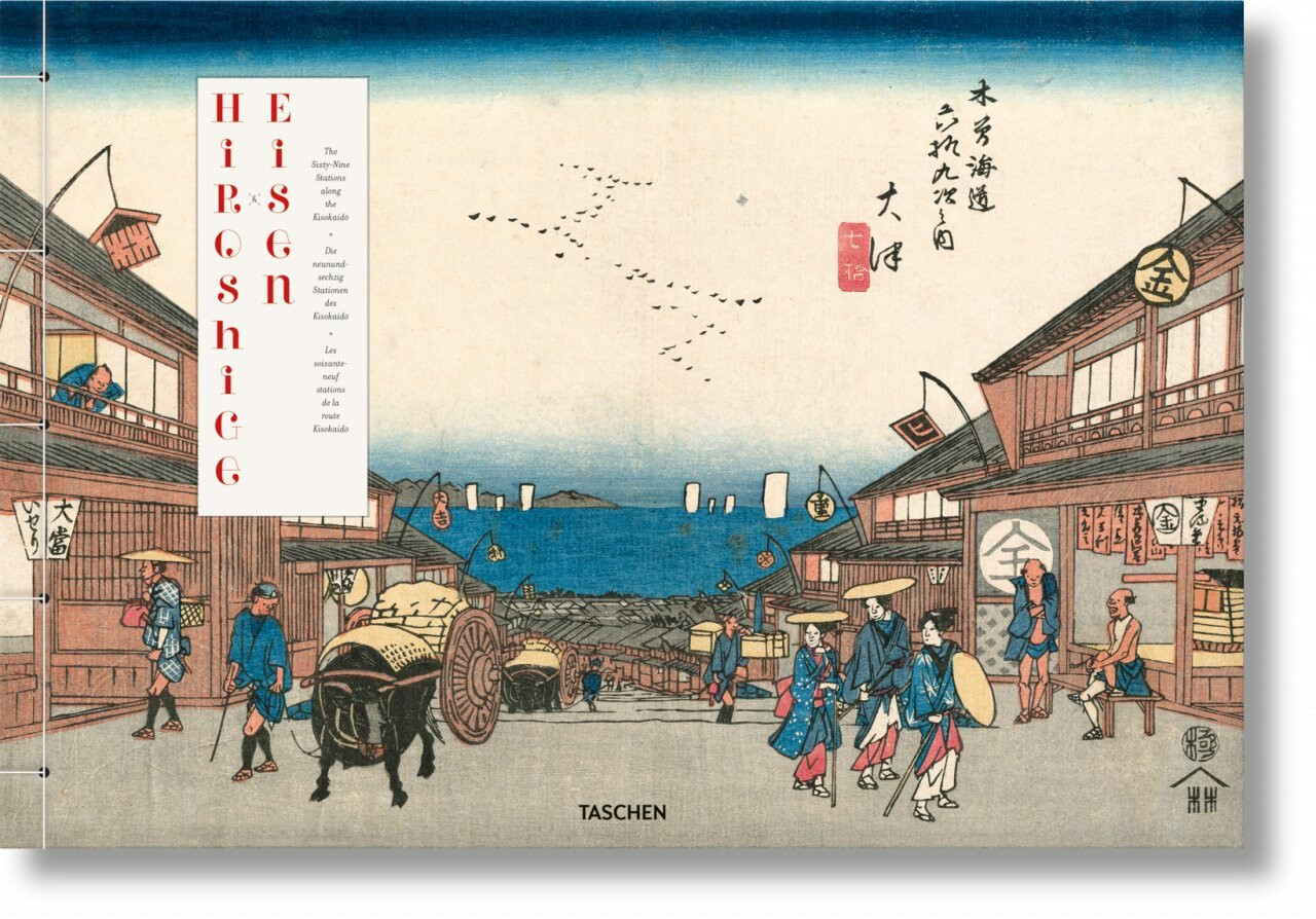 Hiroshige & Eisen. The Sixty-Nine Stations along the Kisokaido als Buch