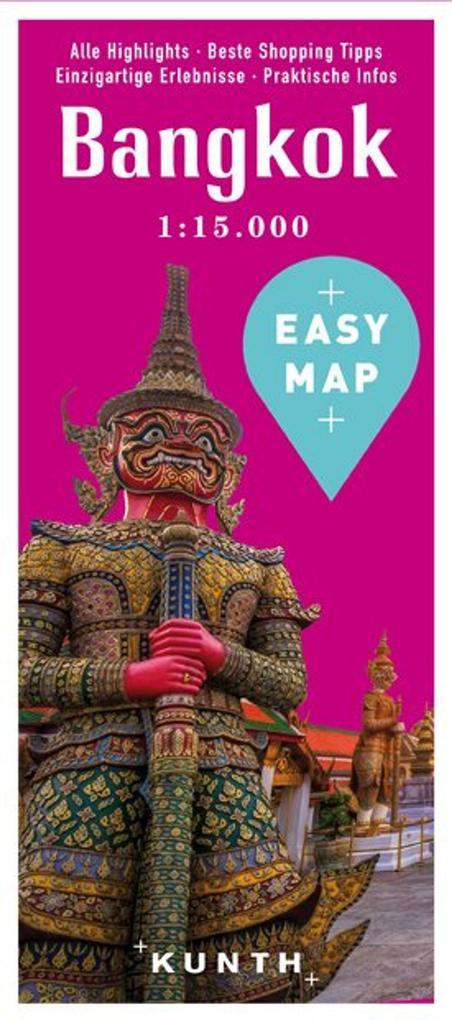 EASY MAP Bangkok mit Krabi und Phuket, 1:15.000...