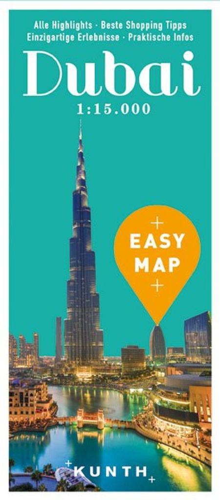 EASY MAP Dubai 1:15.000/1:100.000 als Buch von