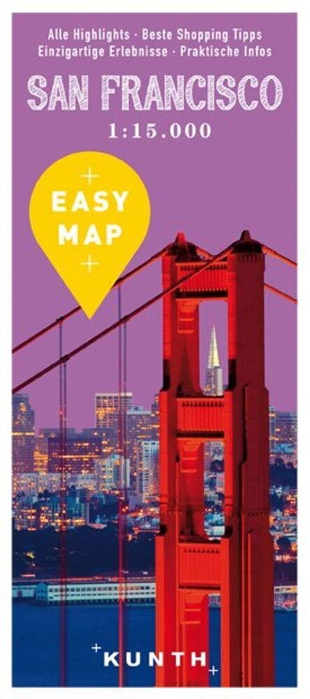 EASY MAP San Francisco mit Highway 1. 1:15.000 ...