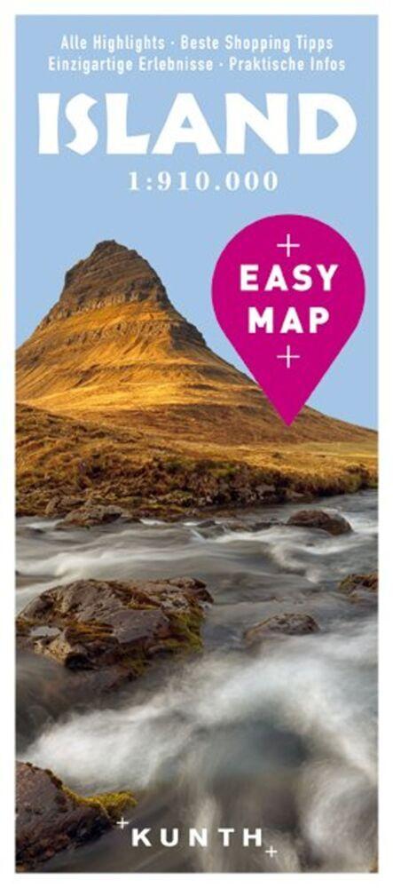 EASY MAP Island 1:910.000 als Buch von