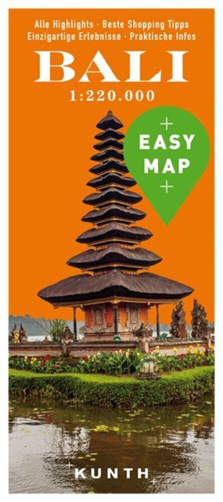 EASY MAP Bali 1:220.000 als Buch von