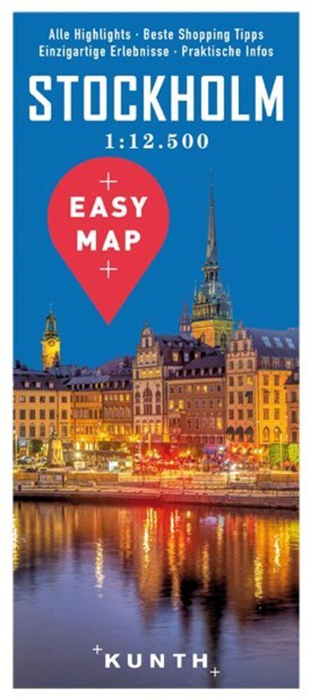 EASY MAP Stockholm 1:12.500 als Buch von