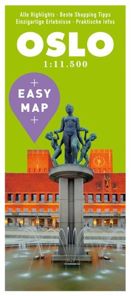 EASY MAP Oslo 1:11.500 als Buch von