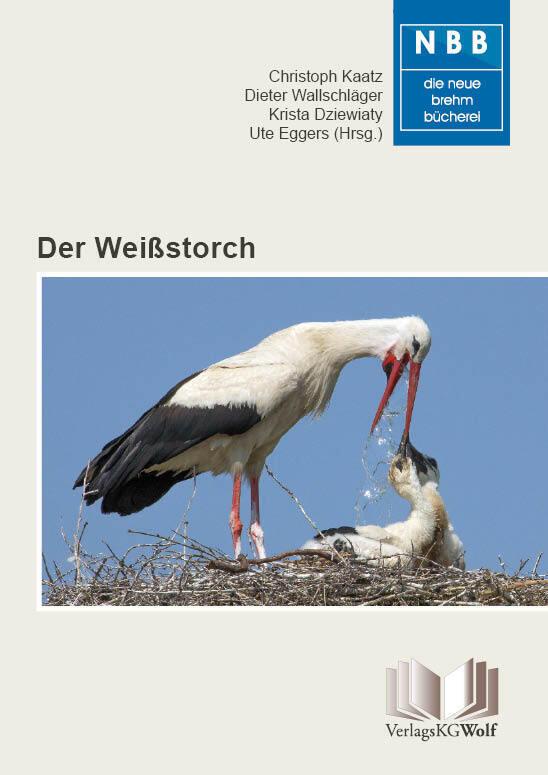 Der Weißstorch als Buch