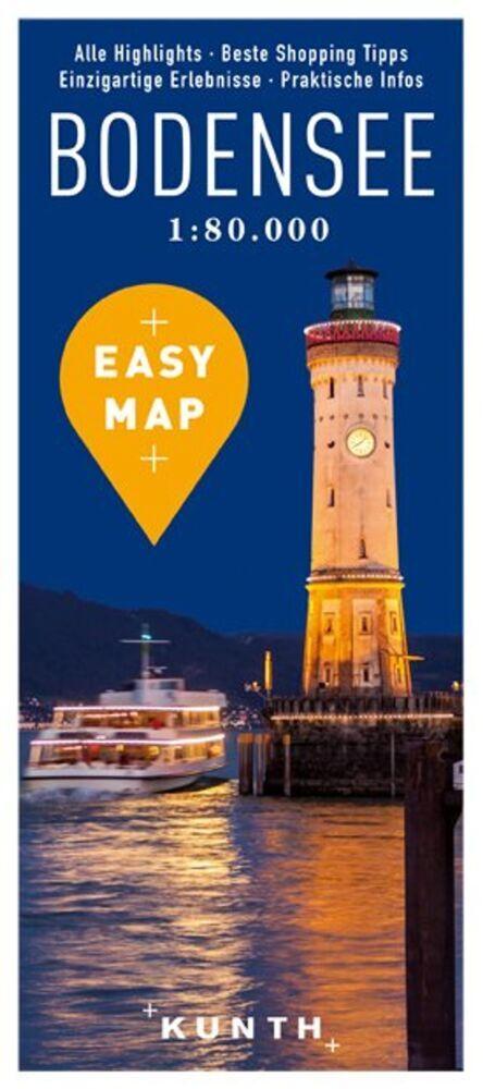 EASY MAP Bodensee 1:80.000 als Buch von