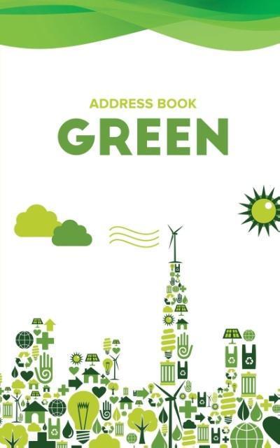 Address Book Green als Taschenbuch von Journals...