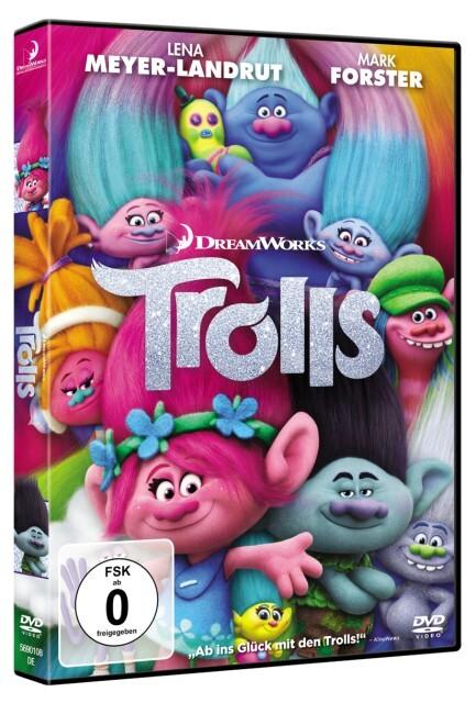 Trolls als DVD