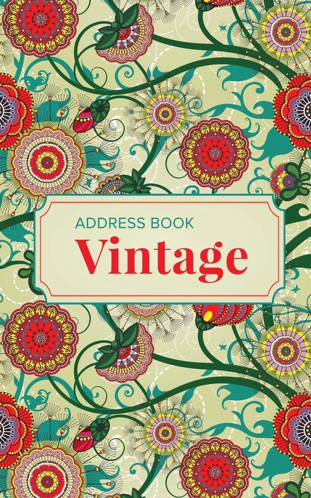 Address Book Vintage als Taschenbuch von Journa...