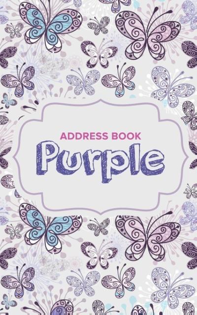 Address Book Purple als Taschenbuch von Journal...