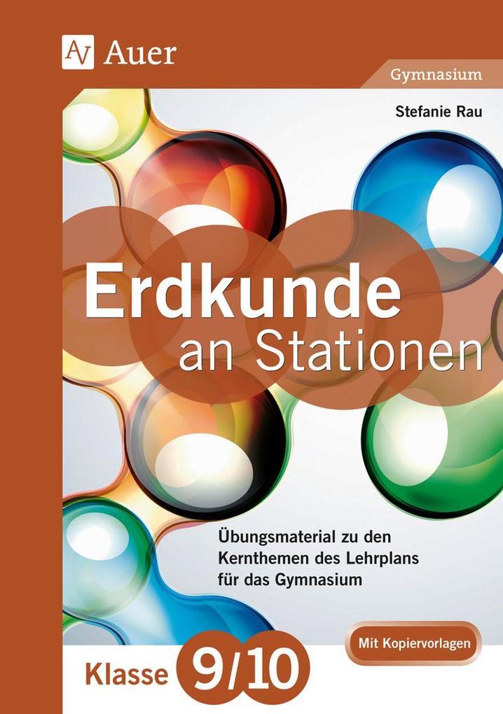 Erdkunde an Stationen 9-10 Gymnasium als Buch